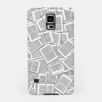 Thumbnail image of Literary Overload Samsung Case, Live Heroes