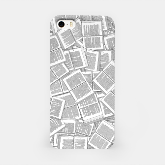 Thumbnail image of Literary Overload iPhone Case, Live Heroes