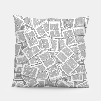 Thumbnail image of Literary Overload Pillow, Live Heroes