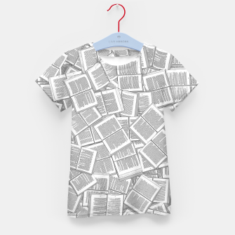 Thumbnail image of Literary Overload Kid's t-shirt, Live Heroes