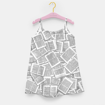 Miniatur Literary Overload Girl's dress, Live Heroes