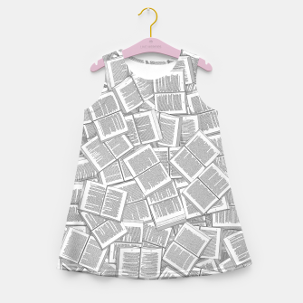 Thumbnail image of Literary Overload Girl's summer dress, Live Heroes