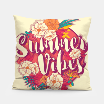Thumbnail image of Summer vibes 001 Pillow, Live Heroes