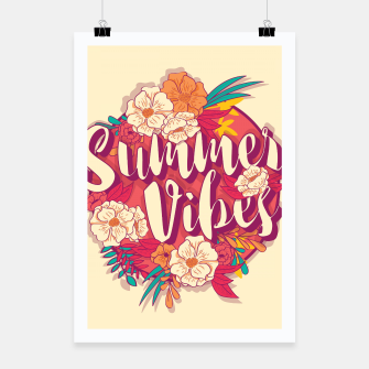 Thumbnail image of Summer vibes 001 Poster, Live Heroes
