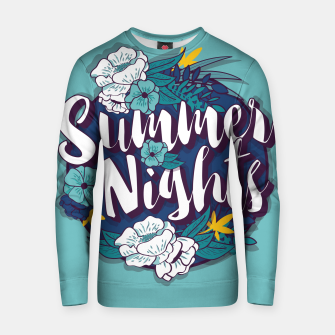 Thumbnail image of Summer Nights 001 Cotton sweater, Live Heroes