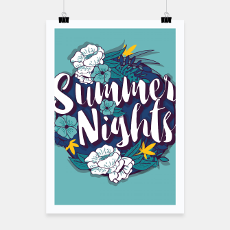 Thumbnail image of Summer Nights 001 Poster, Live Heroes