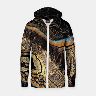 Thumbnail image of Golden Canyons Cotton zip up hoodie, Live Heroes