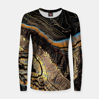 Thumbnail image of Golden Canyons Woman cotton sweater, Live Heroes