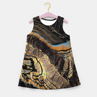 Thumbnail image of Golden Canyons Girl's summer dress, Live Heroes