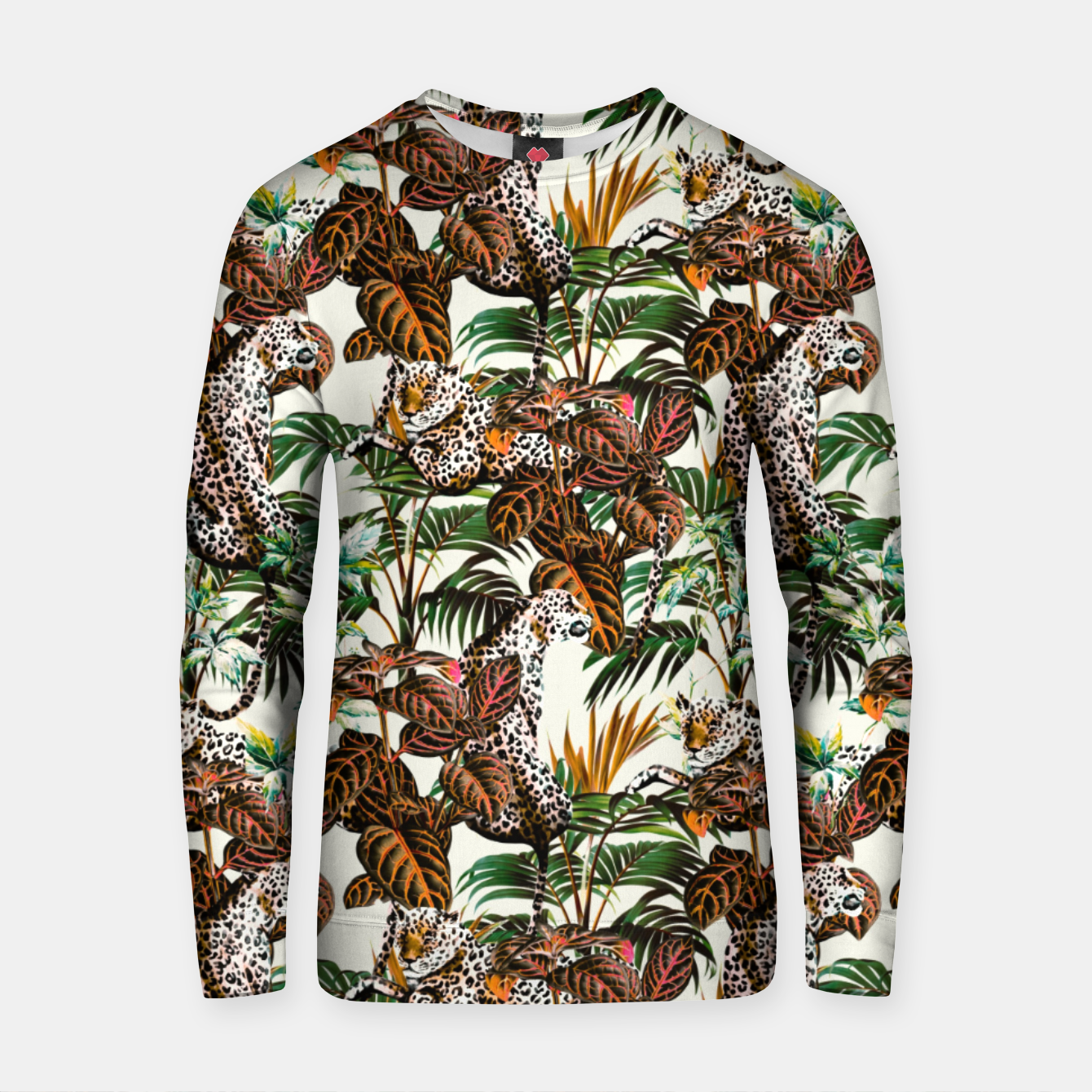 Image of 01-Leopards in the wild jungle Sudadera de algodón - Live Heroes