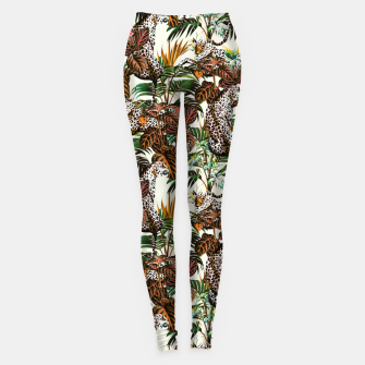 01-Leopards in the wild jungle Leggings thumbnail image