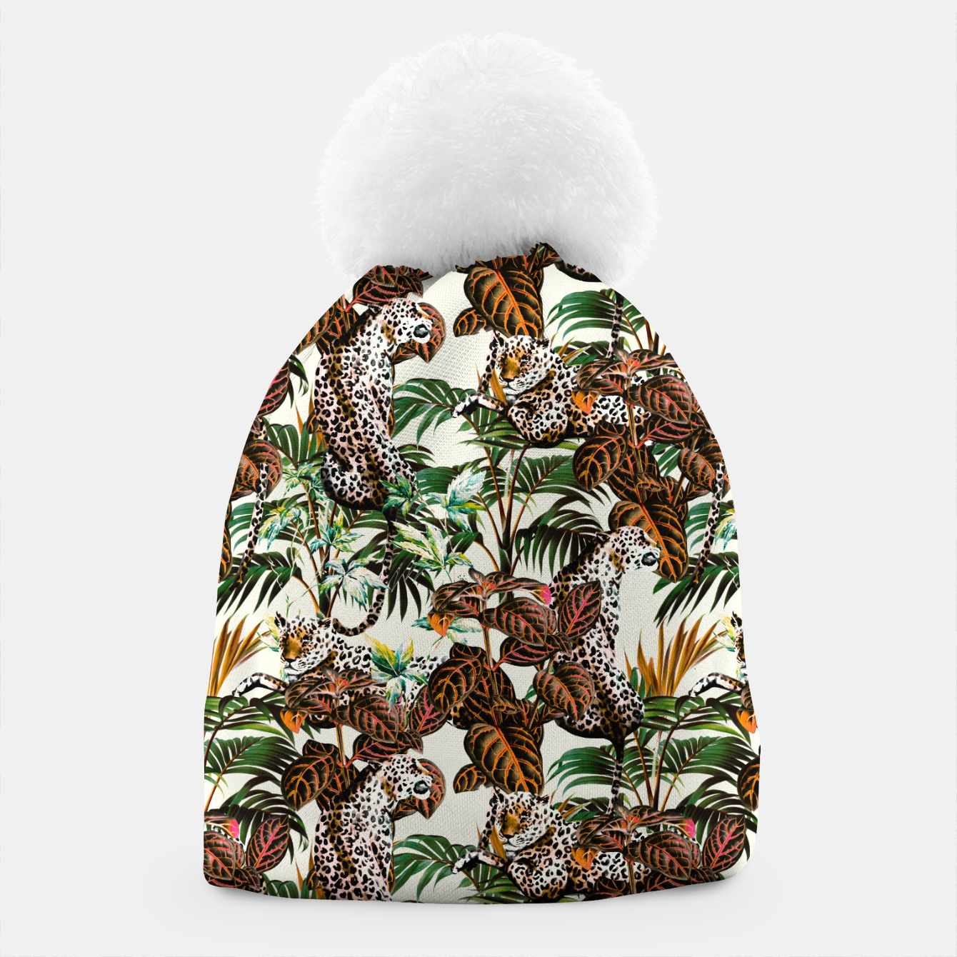 Image of 01-Leopards in the wild jungle Gorro - Live Heroes