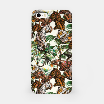 01-Leopards in the wild jungle Carcasa por Iphone thumbnail image