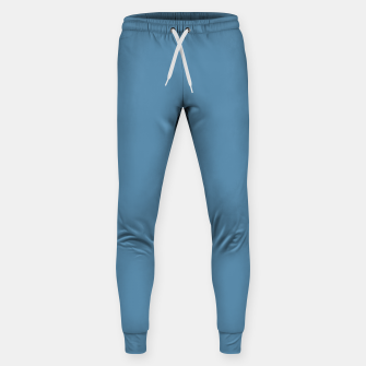 Thumbnail image of Air Force Blue Color Cotton sweatpants, Live Heroes