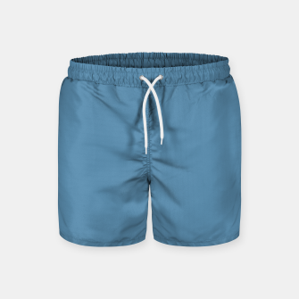 Thumbnail image of Air Force Blue Color Swim Shorts, Live Heroes