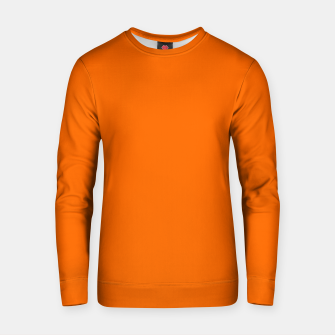 Blaze Orange Color Cotton sweater thumbnail image