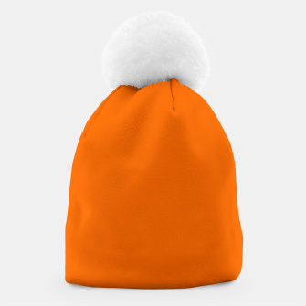Blaze Orange Color Beanie thumbnail image