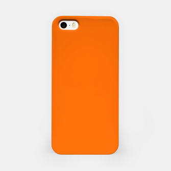 Blaze Orange Color iPhone Case thumbnail image
