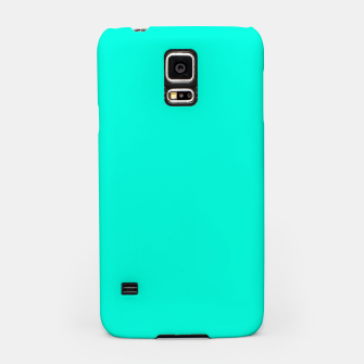 Thumbnail image of Bright Turquoise Color Samsung Case, Live Heroes