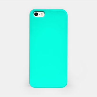 Thumbnail image of Bright Turquoise Color iPhone Case, Live Heroes