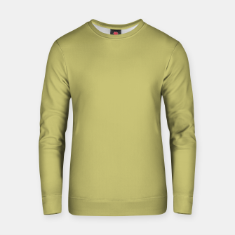 khaki color Cotton sweater thumbnail image