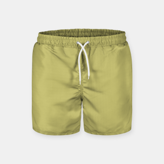 Thumbnail image of khaki color Swim Shorts, Live Heroes