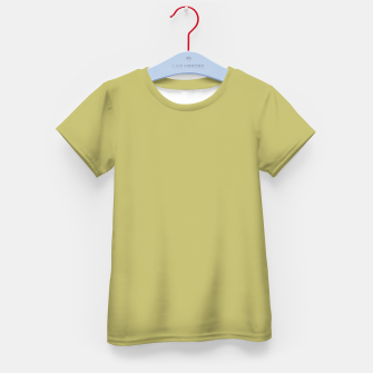 Thumbnail image of khaki color Kid's t-shirt, Live Heroes