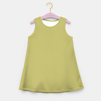Thumbnail image of khaki color Girl's summer dress, Live Heroes