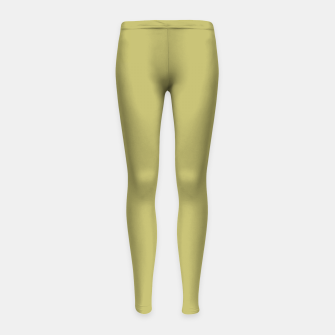 Thumbnail image of khaki color Girl's leggings, Live Heroes