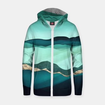 Thumbnail image of Summer Hills Cotton zip up hoodie, Live Heroes