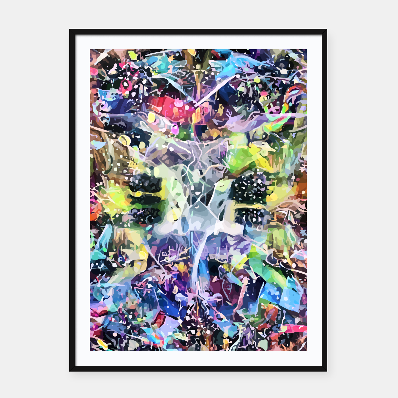 Image of Crow's Paintbrush Framed poster - Live Heroes