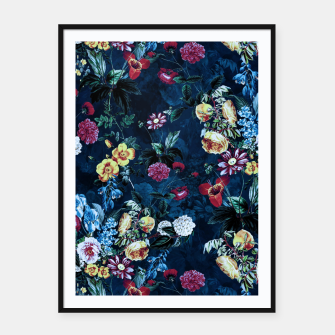 Thumbnail image of Night Garden XVI Framed poster, Live Heroes