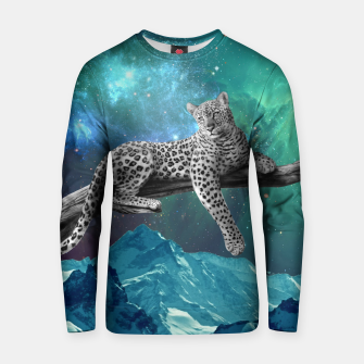 Thumbnail image of Lethargic Leopard Cotton sweater, Live Heroes