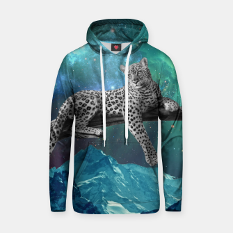 Thumbnail image of Lethargic Leopard Cotton hoodie, Live Heroes