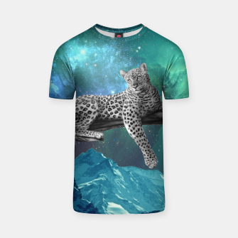 Thumbnail image of Lethargic Leopard T-shirt, Live Heroes