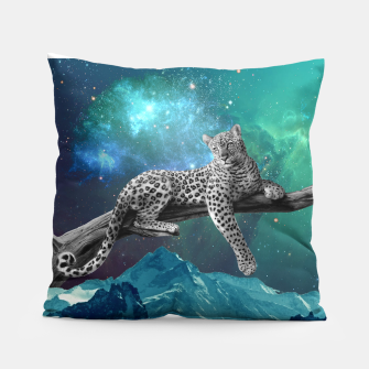 Thumbnail image of Lethargic Leopard Pillow, Live Heroes