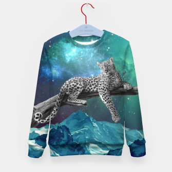 Thumbnail image of Lethargic Leopard Kid's sweater, Live Heroes