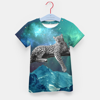 Thumbnail image of Lethargic Leopard Kid's t-shirt, Live Heroes