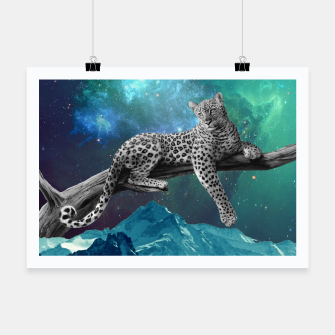 Thumbnail image of Lethargic Leopard Poster, Live Heroes