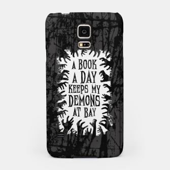 Thumbnail image of A Book A Day Keeps My Demons At Bay Samsung Case, Live Heroes
