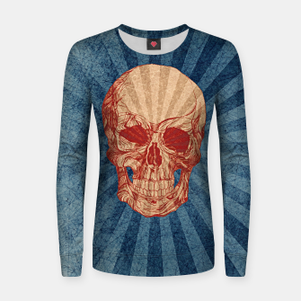 Retro Skull Woman cotton sweater thumbnail image