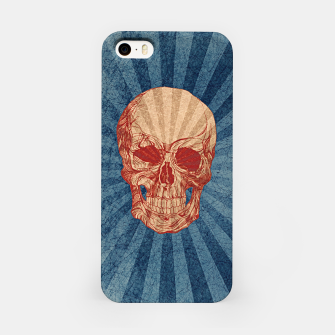 Retro Skull iPhone Case thumbnail image