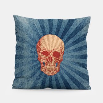 Retro Skull Pillow thumbnail image