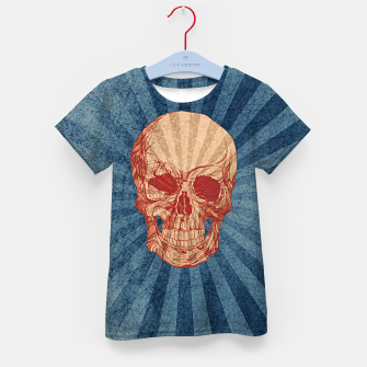 Retro Skull Kid's t-shirt thumbnail image