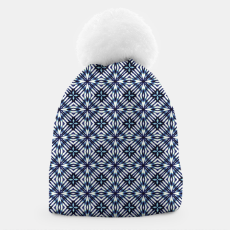 Thumbnail image of Modern Checked Pattern Beanie, Live Heroes