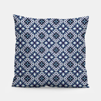 Thumbnail image of Modern Checked Pattern Pillow, Live Heroes