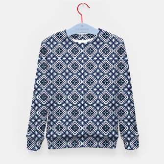 Imagen en miniatura de Modern Checked Pattern Kid's sweater, Live Heroes