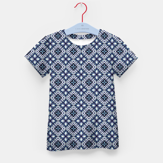 Thumbnail image of Modern Checked Pattern Kid's t-shirt, Live Heroes