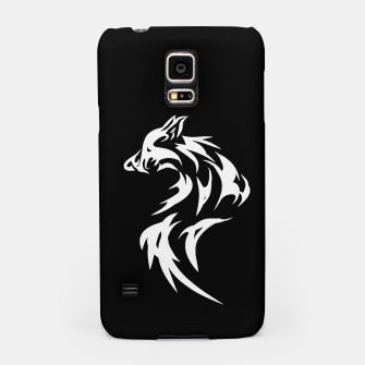 Thumbnail image of Tribal White Wolf | Fancy Retro Art Samsung Case, Live Heroes