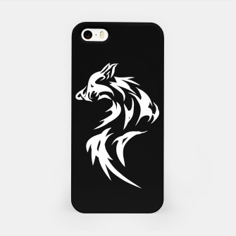 Thumbnail image of Tribal White Wolf | Fancy Retro Art iPhone Case, Live Heroes